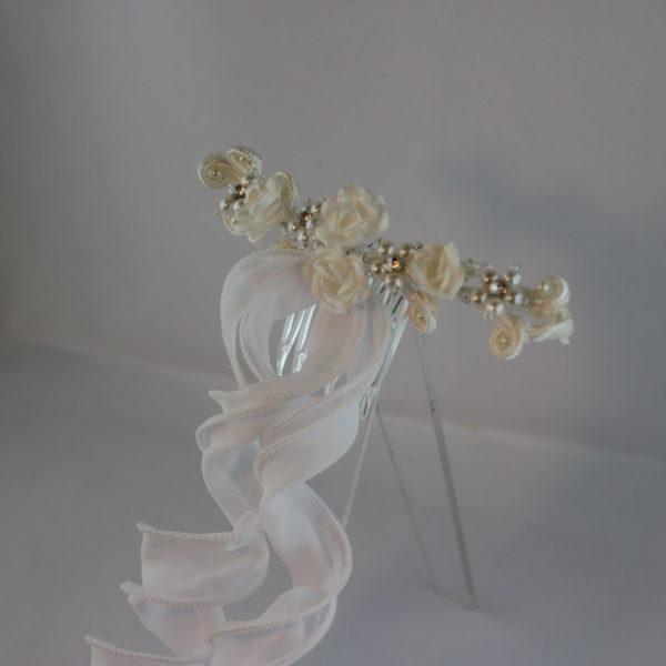 Haarspange Rosen