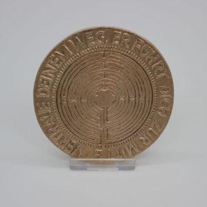 Plakette Labyrinth